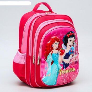 Ранец с жестким карманом princess, принцессы