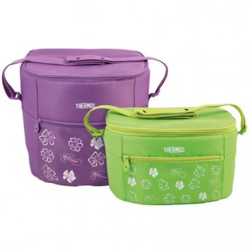 Сумка-термос thermos 24 can cooler with ldpe liner (15l)  purple