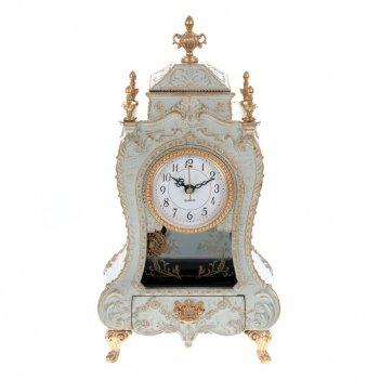 Часы настольные декоративные с музыкальной шкатулкой, l16,5 w9 h32 см, (1х