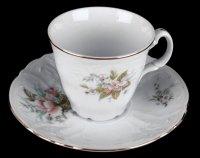 Набор для чая бернадот 23011(чашка160мл.+блюдце) на 6перс.12пред. выс.