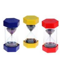 Часы песочные микробисер многогранник микс 16х7,5х7,5 см