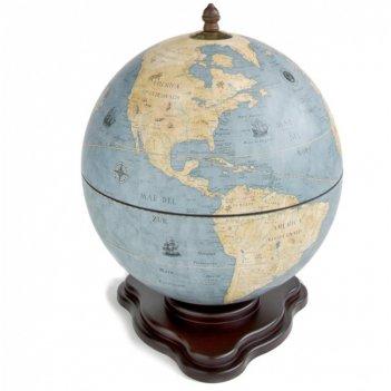Глобус-бар настольный галилео, сфера 40см