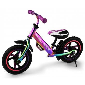 Детский беговел small rider roadster deluxe (радужный хамелеон)