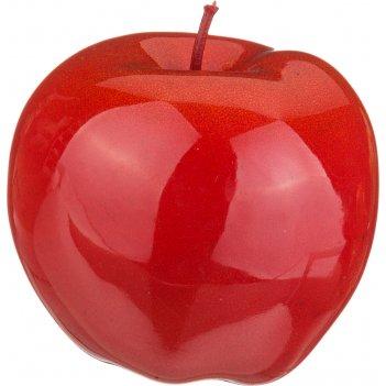 Изделие декоративное красное яблоко высота=9 см без упаковки