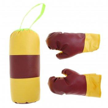 Набор для бокса детский №1 ideal (перчатки+груша)