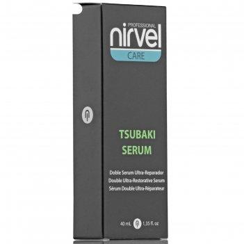 Сыворотка для восстановления волос nirvel professional tsubaki, 40 мл