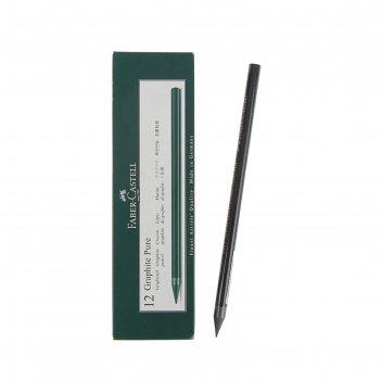 Карандаш чернографитный (цельнографитовый) faber-castell pitt® graphite pu