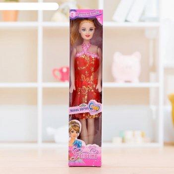 Кукла виола в платье, микс