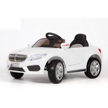 Электромобиль barty б555ос (bmw) белый, колёса eva (каучук), сиденье экоко