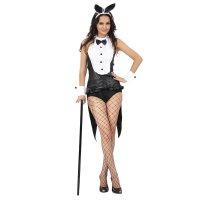 Карнавальный костюм для взрослых прелестница (манжеты, ободок, рубашка-фар
