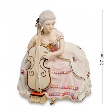 Sv- 88 статуэтка девушка с виолончелью (sabadin vittorio)