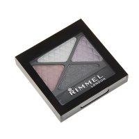 Тени для век rimmel  glam`eyes colour rush quad eye shadow 001 тон  тон 02