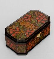 Ларец 230х140 с хохломской росписью