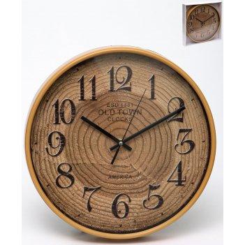Часы настенные круглые home art 30,4 см
