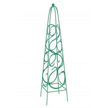 Пирамида садовая декоративная для вьющихся растений, 112,5 х 23 см, квадра
