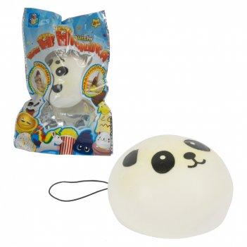 1toy игрушка-антистресс мммняшка squishy (сквиши), шар-панда 20 гр, 6.5/6.