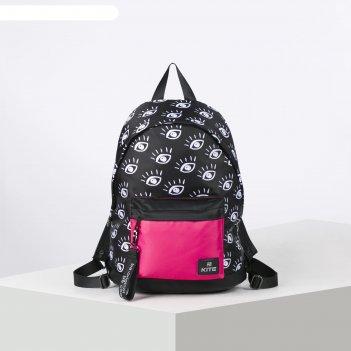 Рюкзак школьный kite 910 40*29.5*15 дев сity, чёрный k20-910m-2