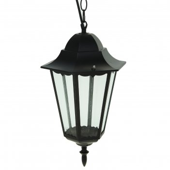 Светильник tdm 6100-05 садово-парковый шестигранник, 100вт, подвес, черный