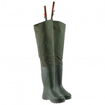 Сапоги torvi эва «лиман» без вкладыша, цвет олива, размер 46-47