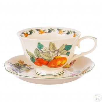 Набор чайных пар royal classics 220мл (6 пар)