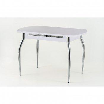 Стол раздвижной «вегас-1.5», 1100(1450) x 700 x 750 мм, цвет белый