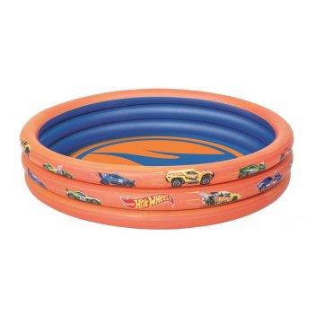 Н.бассейн hot wheels 122 х 25 см, 140 л.