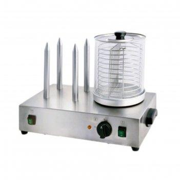 Мармит gastrorag ly200602m, для сосисок и булок, электрический, серебристы