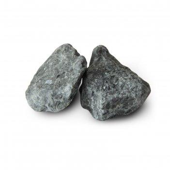 Камень для бани габбро-диабаз, мешок 20кг