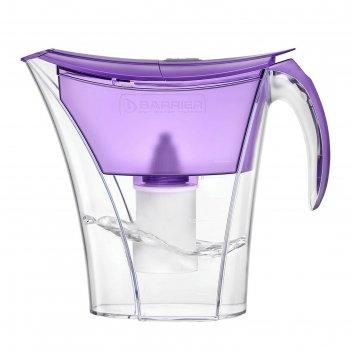 Фильтр-кувшин 3,3 л барьер-смарт, цвет фиолетовый