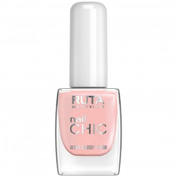 Лак для ногтей ruta nail chic, тон 11, пудровый