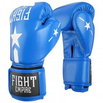 Перчатки боксерские, детские, 6 унций, цвет синий