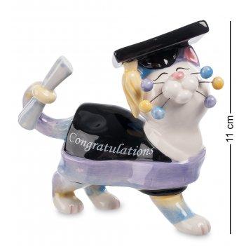 Cms-31/ 8 фигурка кот магистр (pavone)