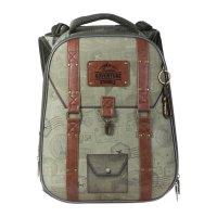 Рюкзак каркасный hatber ergonomic 37 х 29 х 17, для мальчика adventure, зе