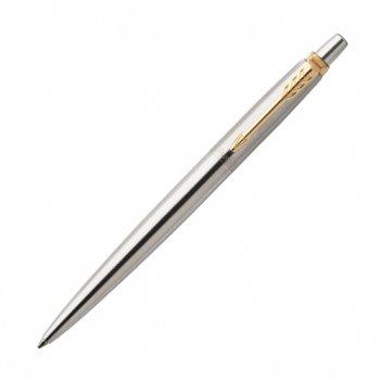 Ручка шариковая parker jotter stainless steel gt