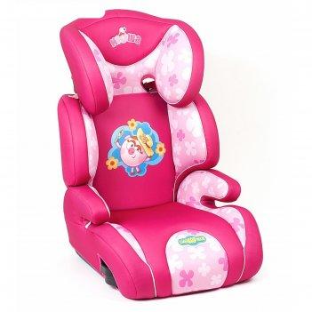 Детское кресло смешарики, группы 2/3 (15-36 кг/3-12 лет), полиэстер, порол