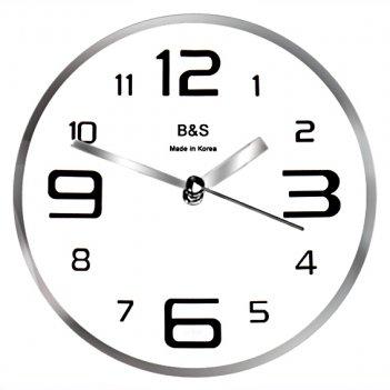 Настенные часы b&s shc-202 cr(w)