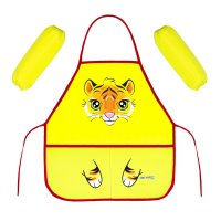 Набор детский для творчества collorista тигренок, фартук + нарукавники, 45