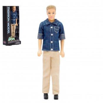 Кукла модель «эдвард» в костюме, микс