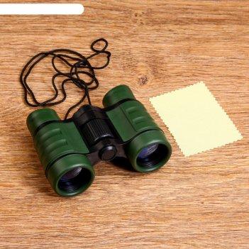 Бинокль конспирация 4х30, окуляр круглый