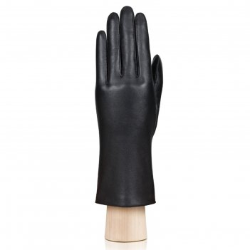 Перчатки женские, размер 6, цвет чёрный