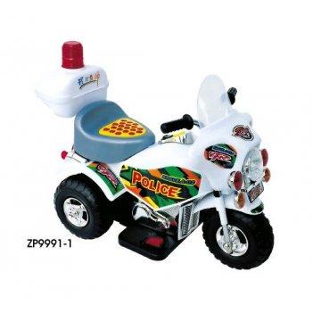 Мотоцикл эл. мотор, бел,72х36х56 см
