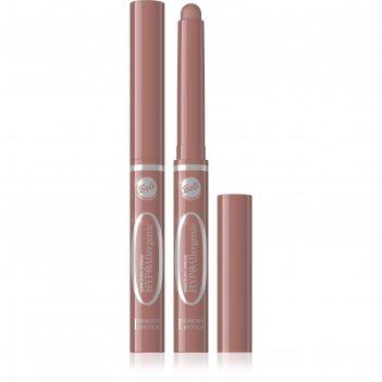 Пудровая губная помада bell hypoallergenic powder lipstick тон 01, 13 мл