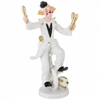 Фигурка клоун 13*7,5*22,5 см. коллекция буффонада (кор=12шт.)