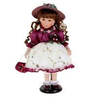 Кукла коллекционная луиза с сумочкой