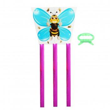 Воздушный змей пчёлка с леской