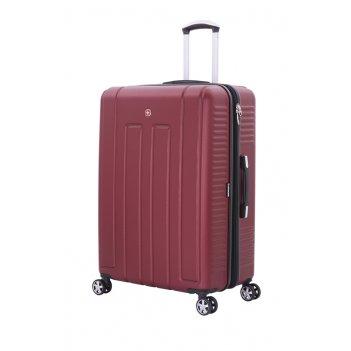 Чемодан wenger vaud бордовый, абс-пластик, 69 x 30 x 48  см, 99 л