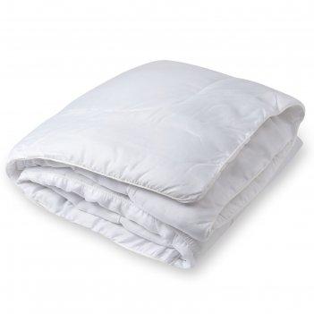 Одеяло этель лебяжий пух 140х205 ткань чехла 100% пэ, пакет (одноиг. стежк