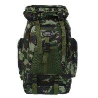 Рюкзак тур. милитари, 37*15*50см, 1 отд на молнии, 5 н/ кармана, милитари