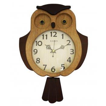 Настенные часы с маятником kairos ka 019