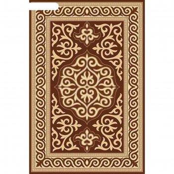 Прямоугольный ковёр da vinci d153, 250x500 см, цвет brown